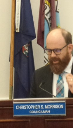Chris Morrison has been passionate about protecting the town's renters – but a council majority now views enforcement of specific rental property standards as too expensive or too problematic. File Photos/Roger Bianchini