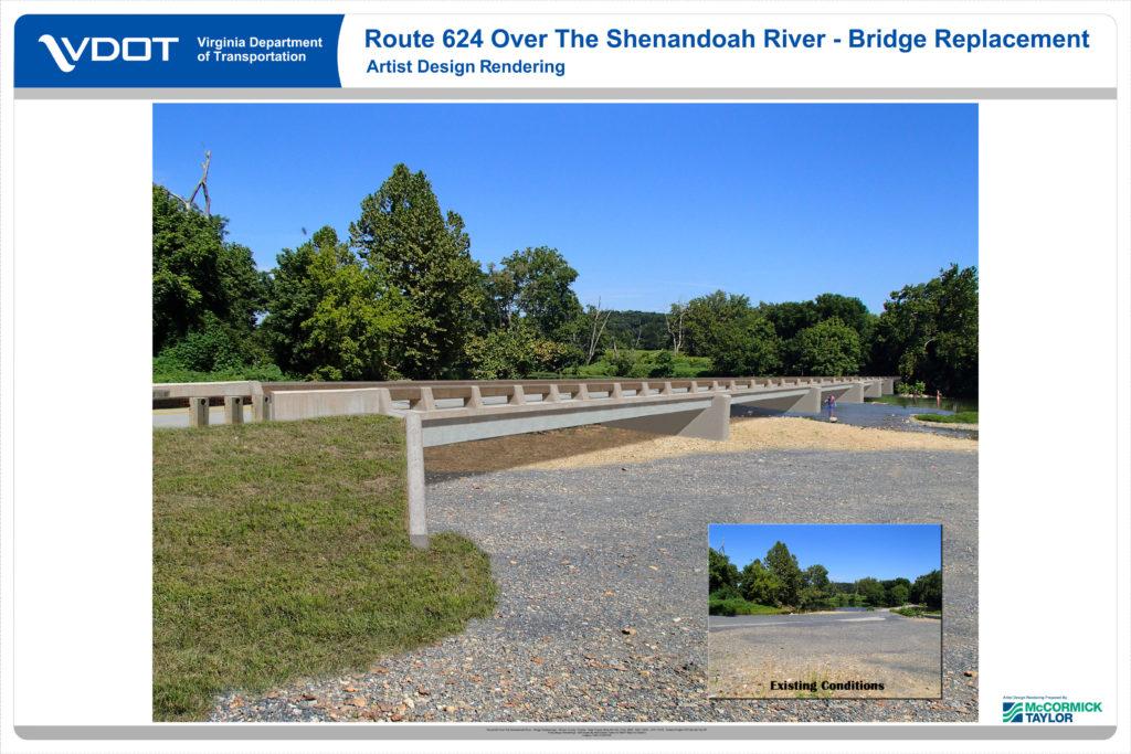 New Bridge At Morgan S Ford Opens Monday Jan 22 Royal