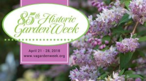 85th Historic Garden Week @ Throughout Virginia