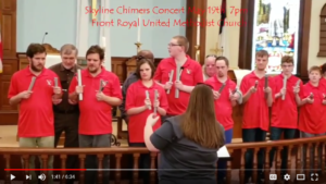 Skyline Chimers Concert @ Front Royal United Methodist Church