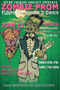 Zombie Prom FUNraiser Dinner & Dance @ Selah Theatre Project