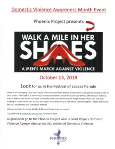 Walk A Mile In Her Shoes @ Downtown Front Royal