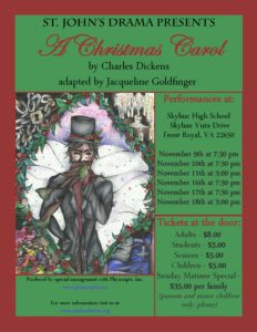 A Christmas Carol @ Skyline High School Theatre
