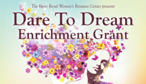 2019 Dare to Dream Grant Application @ Front Royal Women's Resource Center