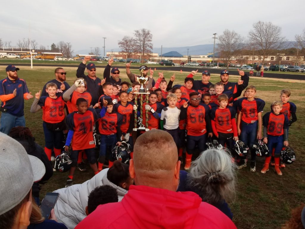 Front Royal Youth Football League Wildhawk Juniors Courtesy P Os Jennifer Wines