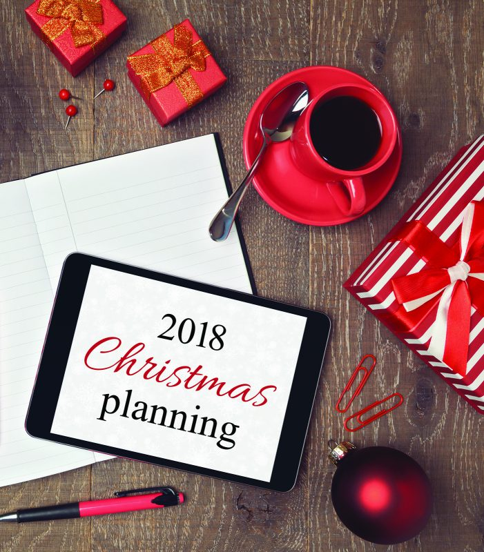 is thinking about everything you need to do for the holidays making you lose your mind then breathe a sigh of relief this list will keep you on track so