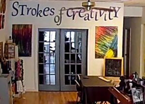 Ribbon Cutting & Grand Re-Opening @ Strokes of Creativity