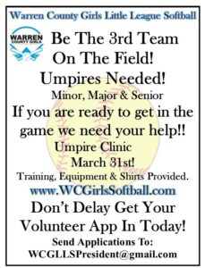 Umpire Clinic for WC Girls Softball