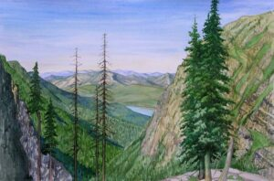 Watercolor Landscapes: In and Out of the Studio @ Art in the Valley
