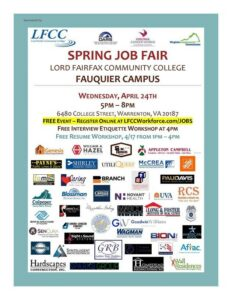 LFCC Job Fair @ LFCC - Fauquier Campus