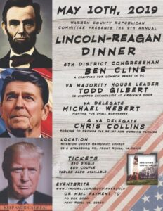 Lincoln Reagan Dinner @ Riverton United Methodist Church