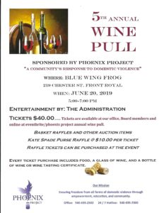 Annual Wine Pull @ Blue Wing Frog